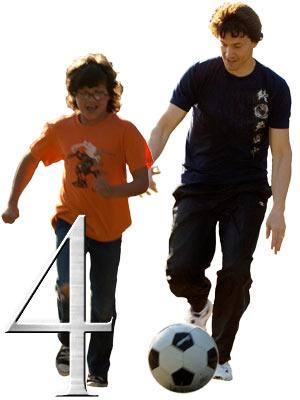 4.) Houd van kinderen en help hen